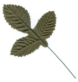 Medium Teige Rose Leaf