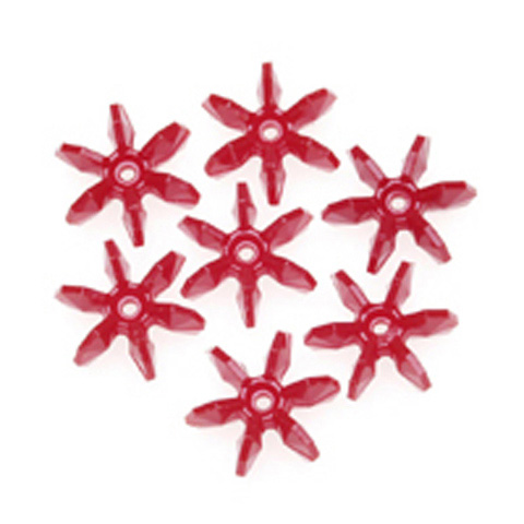 Starflake Beads - Opaque Red - 12mm - 1000 pieces