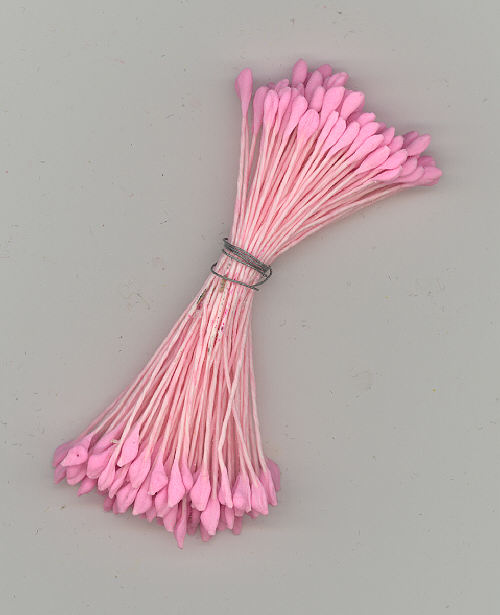 Stamen - Solid Pink - 144 pieces