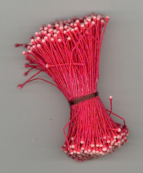 Stamen - Red/Pink - 144 pieces