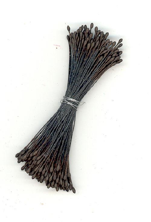 Stamen - Solid Black - 144 pieces