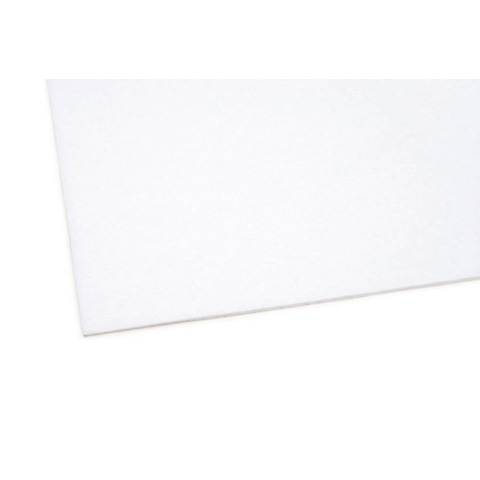 02436 Felt Sheet - White - 9 x 12 inches