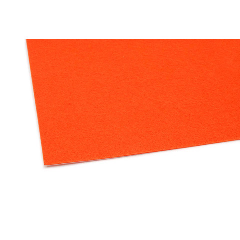 02444 Felt Sheet - Tangerine - 9 x 12 inches
