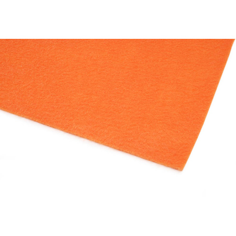 10087-23E Kunin™ Eco-Fi® Classicfelt™ - Orange - 9 x 12 inches - Made in USA