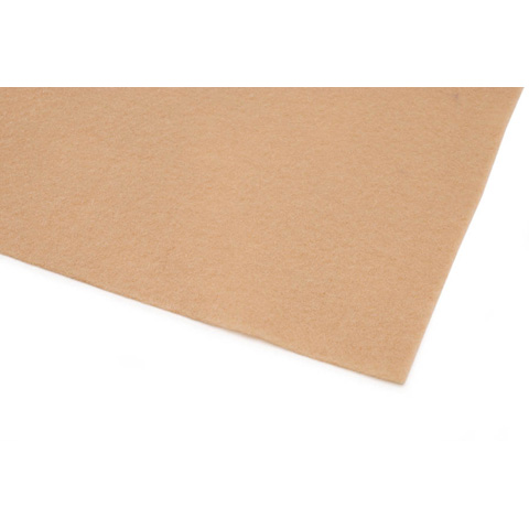 10087-250E Kunin™ Eco-Fi® Classicfelt™ - Camel - 9 x 12 inches - Made in USA