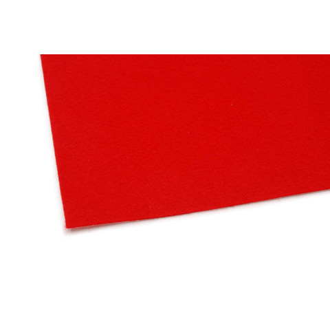 02433 Felt Sheet - Bright Red - 9 x 12 inches