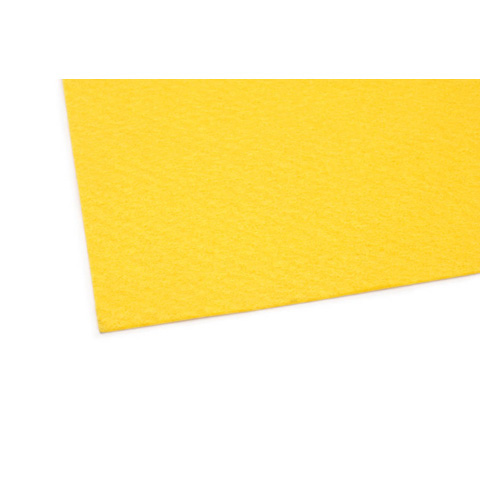 02411 Felt Sheet - Dark Yellow - 9 x 12 inches