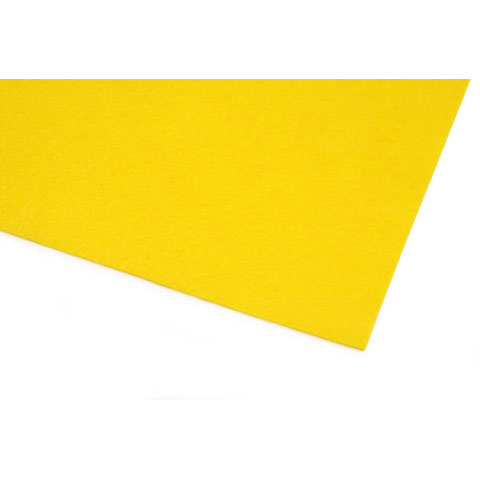 10087-34E Kunin™ Eco-Fi® Classicfelt™ - Yellow - 9 x 12 inches - Made in USA