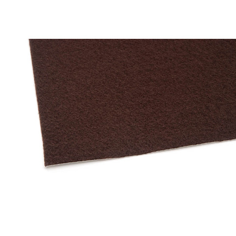 02440 Felt Sheet - Brown - 9 x 12 inches