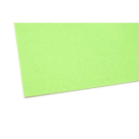 02407 Felt Sheet - Lime Green - 9 x 12 inches