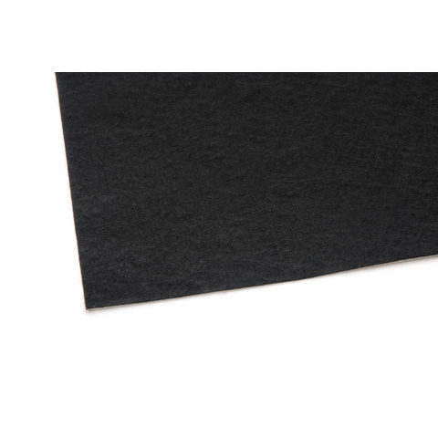 02445 Felt Sheet - Black - 9 x 12 inches