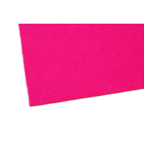02417 Felt Sheet - Fuchsia - 9 x 12 inches