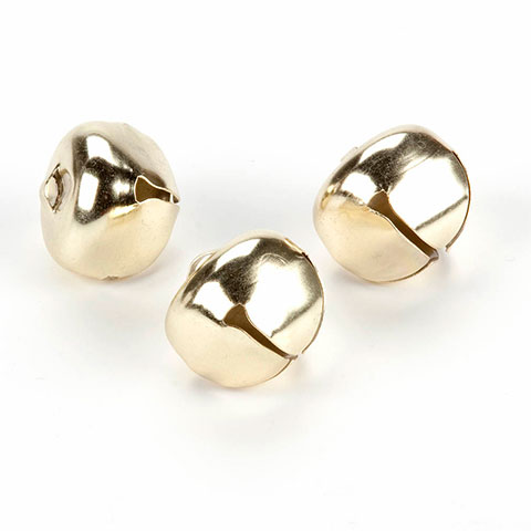 5/8 inch Gold Jingle Bells