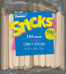 Wood Craft Sticks