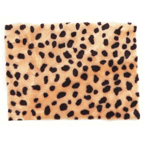 Fur - Cheetah Print - 9 x 12 inches