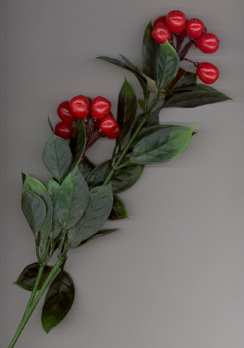 Lacquered Laurel Spray - 12 pieces