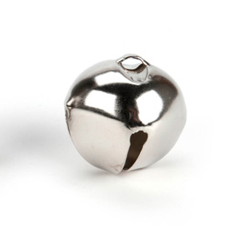 Jingle Bell - Silver - 2 inches