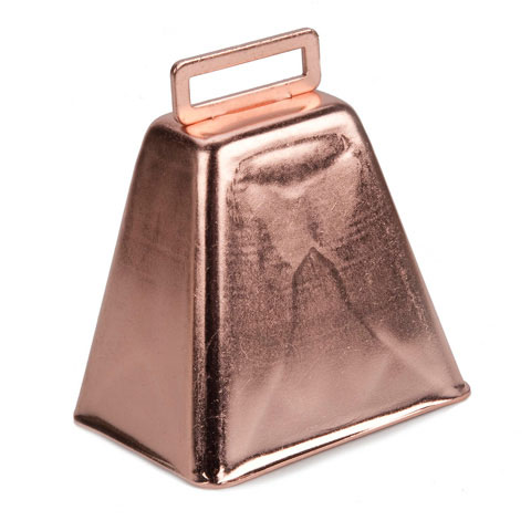 Cowbell - Copper - 3 inches