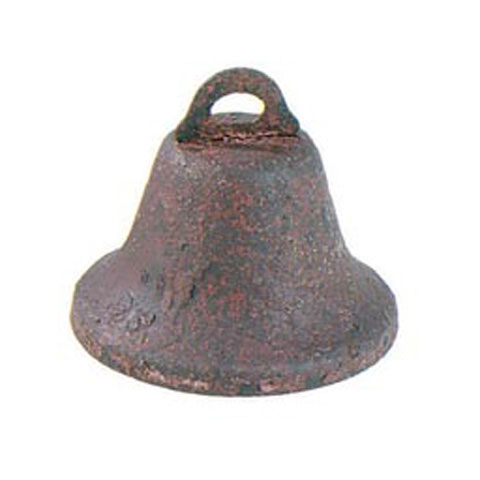 Rusted Liberty Bell - 45 mm - 3 pieces