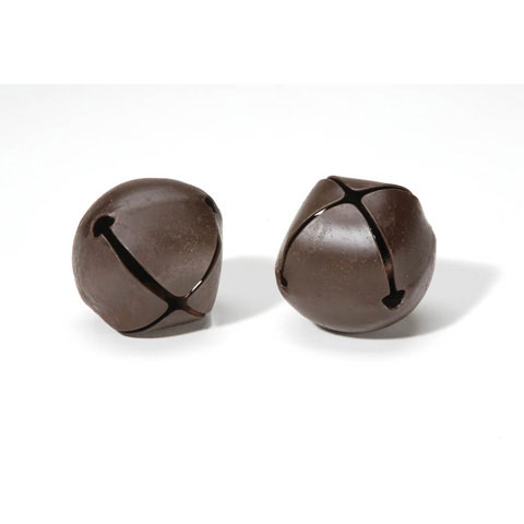 Rusted Jingle Bells - 45mm - 2 pieces