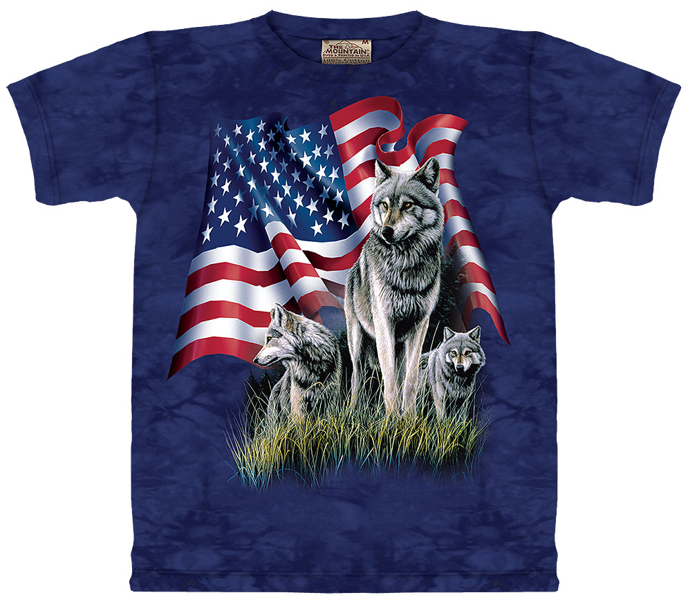 Wolf Flag T-Shirt