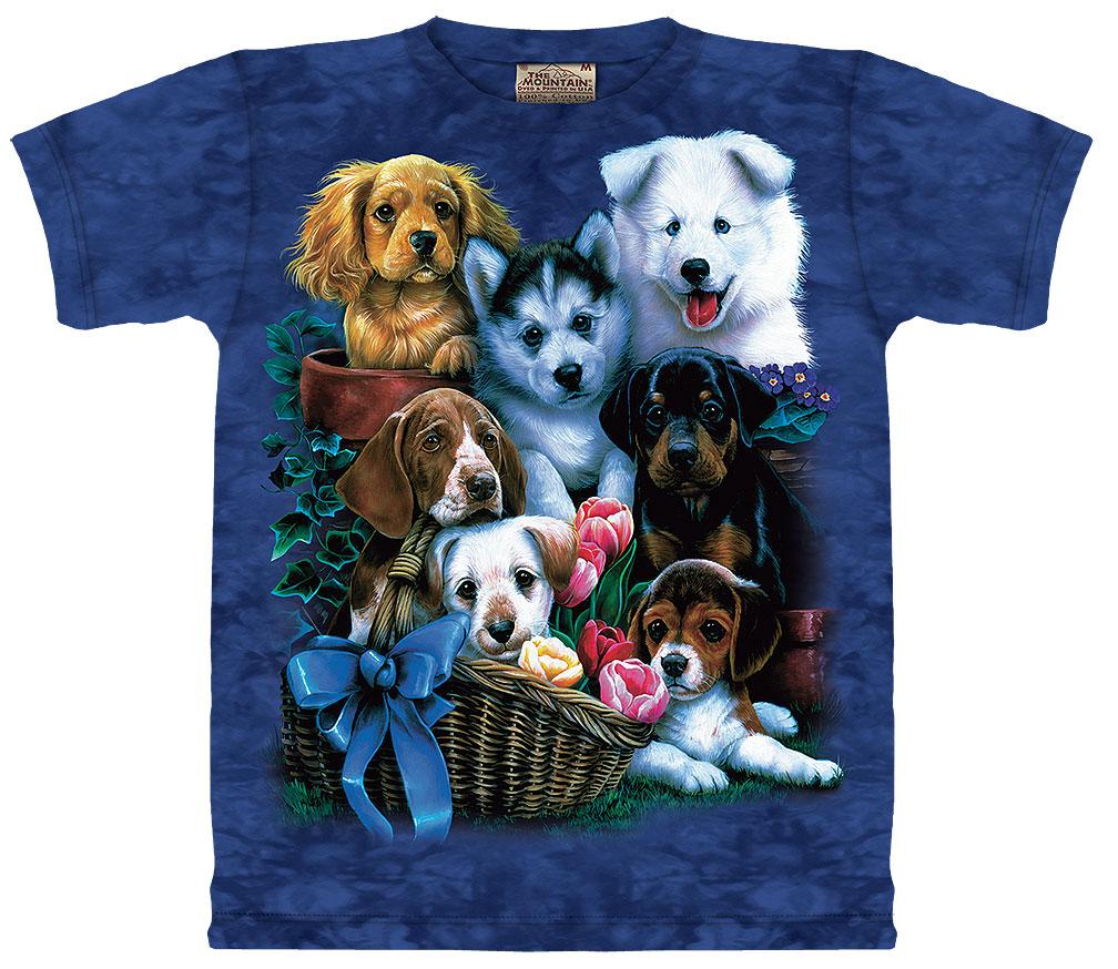 Puppy Collage T-Shirt