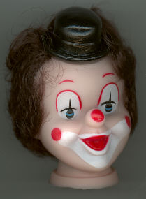 6 inch Clown Head