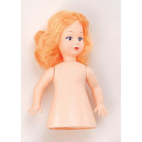 Air Freshener Doll - Caucasian with Blonde Hair - 6.5 inches