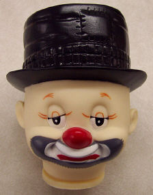 5-1/2 inch Full Clown Head
