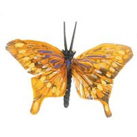 Feather Butterfly - Brown - 2-1/2 inches