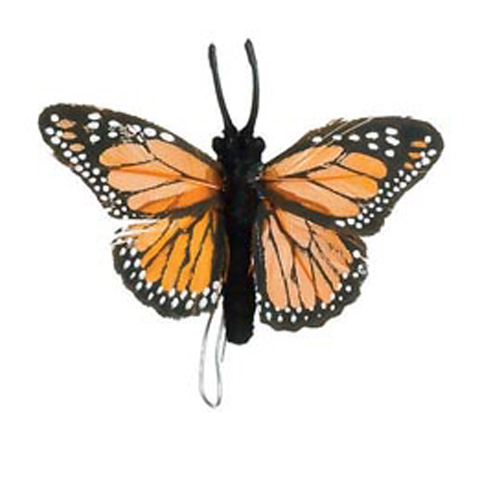 Butterfly - Orange - 2-1/2 inches