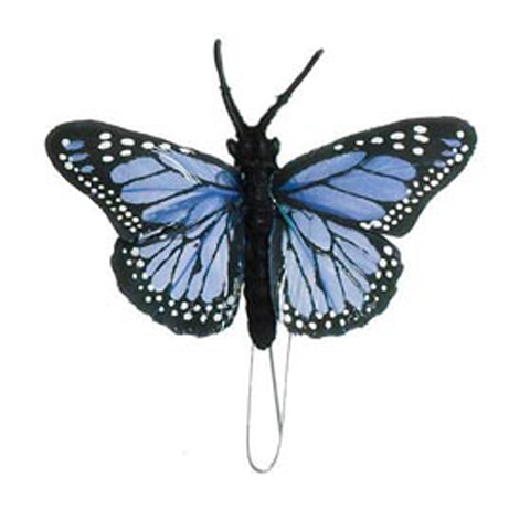 Butterfly - Blue - 2-1/2 inches