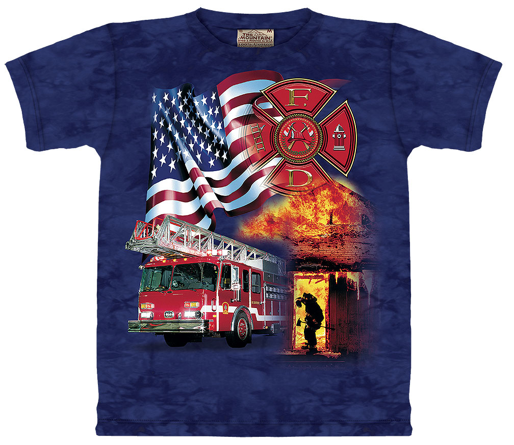 Fireman Flag T-Shirt