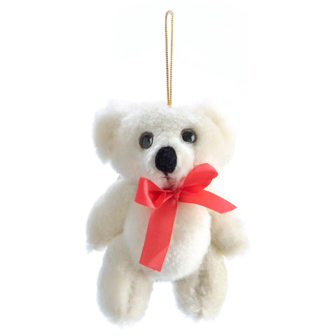 Bear - Fully Jointed - Beige - 3-1/2 inches