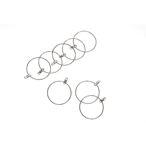 Hoop Earring - Nickel Plated Steel - 32mm