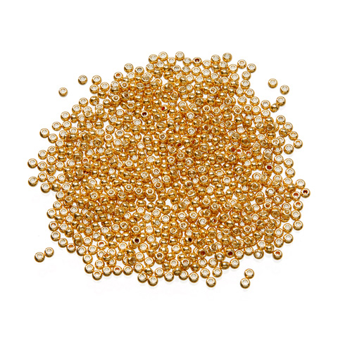 Toho® Japanese Glass Seed Beads - Antique Gold - 11/0 2.2mm
