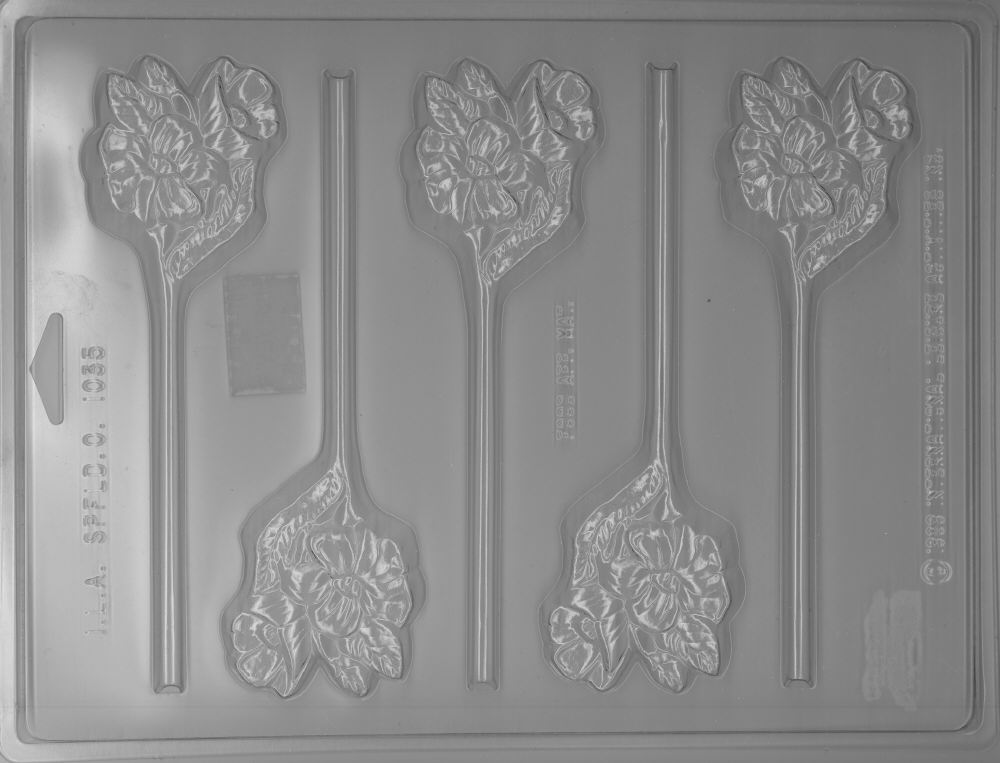 Flower Bouquet Sucker Mold - Plastic