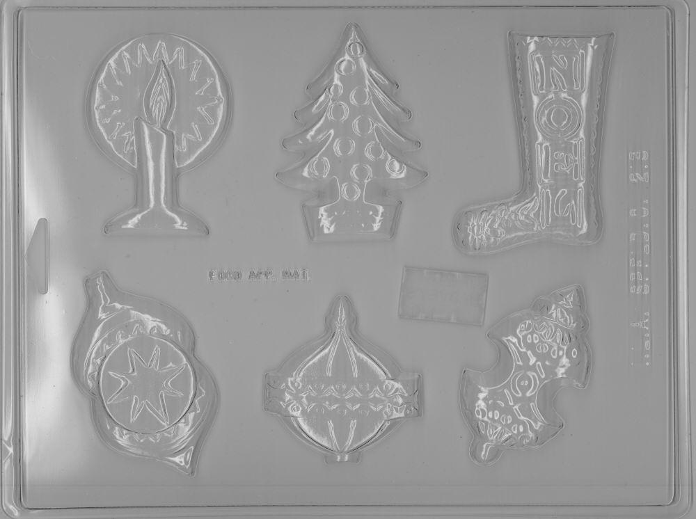 Assorted Christmas Mold - Plastic