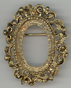 Pin Frame - Antique Gold