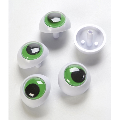 Frog Eyes with Metal Washers - 36mm - 144 pieces