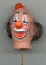 2 inch Clown Head with Hat