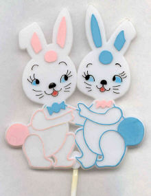Bunny Stick Up - 12 Pieces