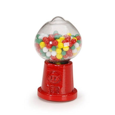 Timeless Minis™ - Tabletop Gumball Machine - .6875 x 1.25 inches