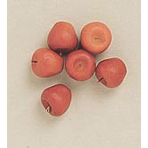 Miniature - Red Apples - 6 pieces