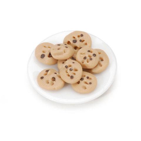 Miniature - Chocolate Chip Cookie Plate - 1 set
