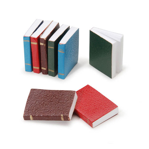 Timeless Minis™ - Assorted Books - .625 x .875 inches