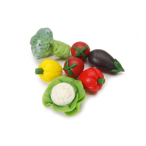 Miniature - Assorted Vegetables - 7 pieces