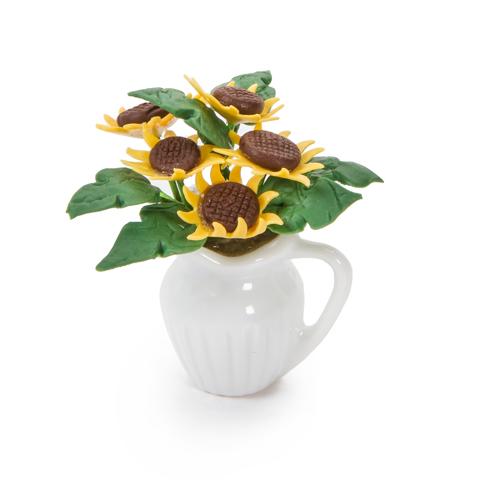 Timeless Minis™ - Handmade Sunflower Centerpiece - 1.25 x 1.75 inches