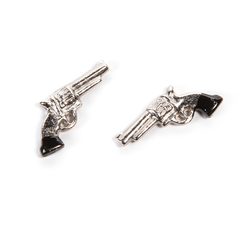 Timeless Minis™ - Western Pistols - .875 x .5 inches - 2 pieces