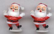 Santa - 1-1/4 inch - 2 pieces